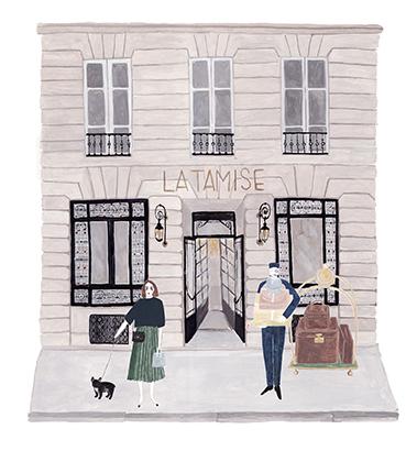 Hôtel La Tamise Paris rue d'Alger